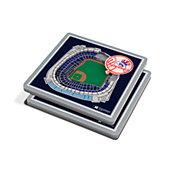 You the Fan New York Yankees 3D Stadium Views Coaster Set