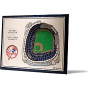 You the Fan New York Yankees 5-Layer StadiumViews 3D Wall Art