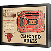 You the Fan Chicago Bulls 25-Layer StadiumViews 3D Wall Art