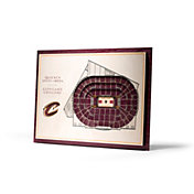 You the Fan Cleveland Cavaliers 5-Layer StadiumViews 3D Wall Art