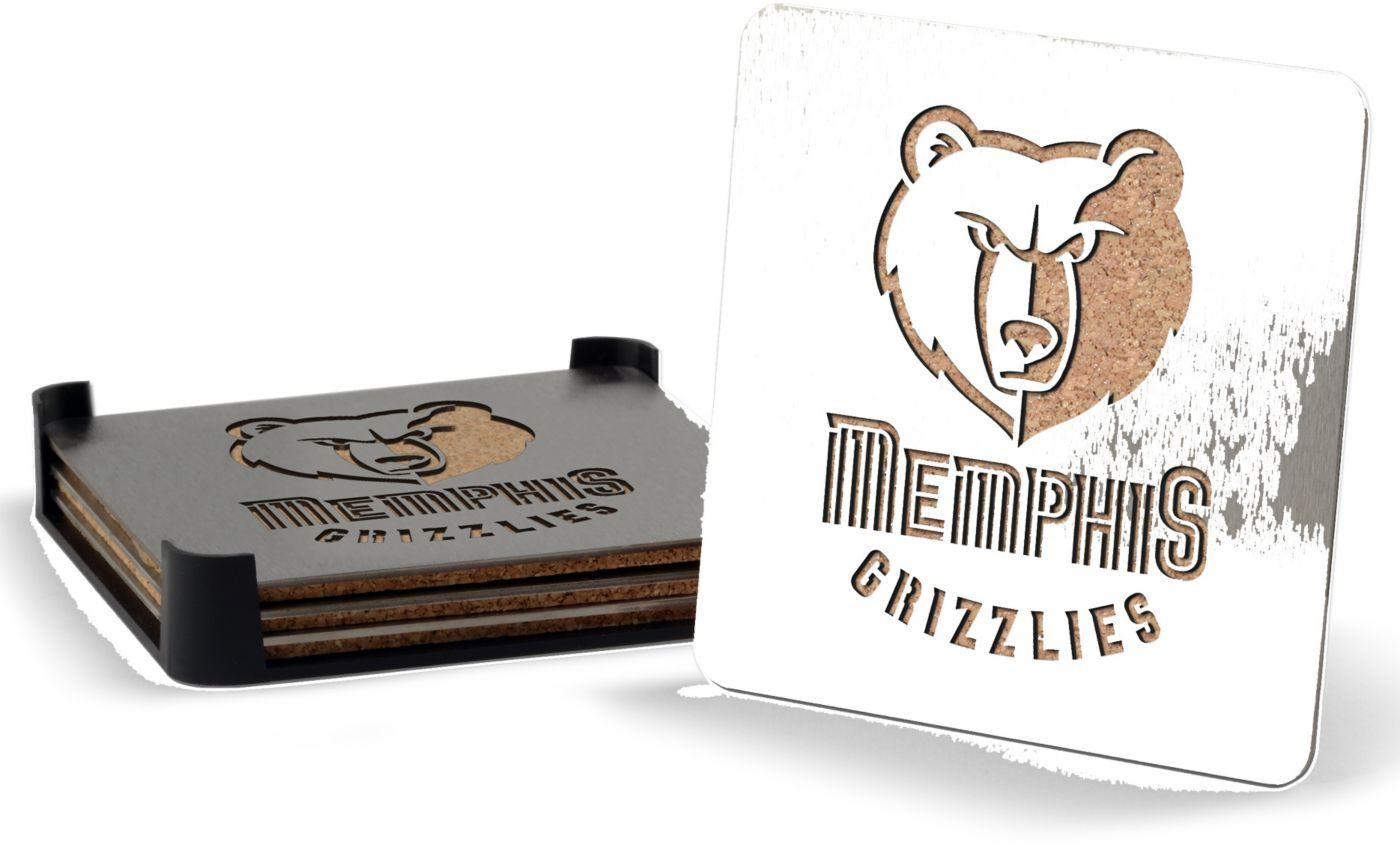 You the Fan Memphis Grizzlies Coaster Set