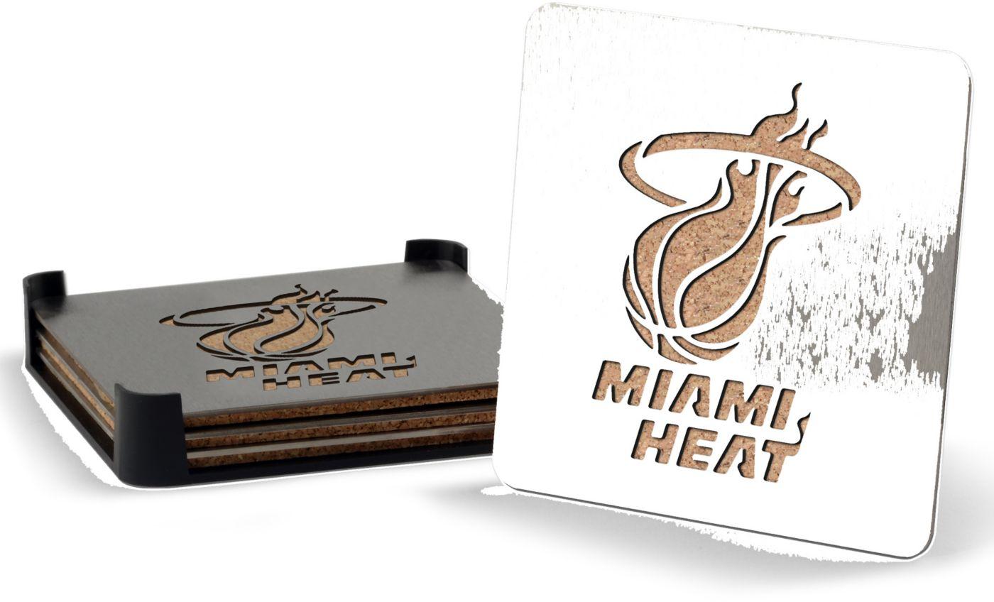 You the Fan Miami Heat Coaster Set