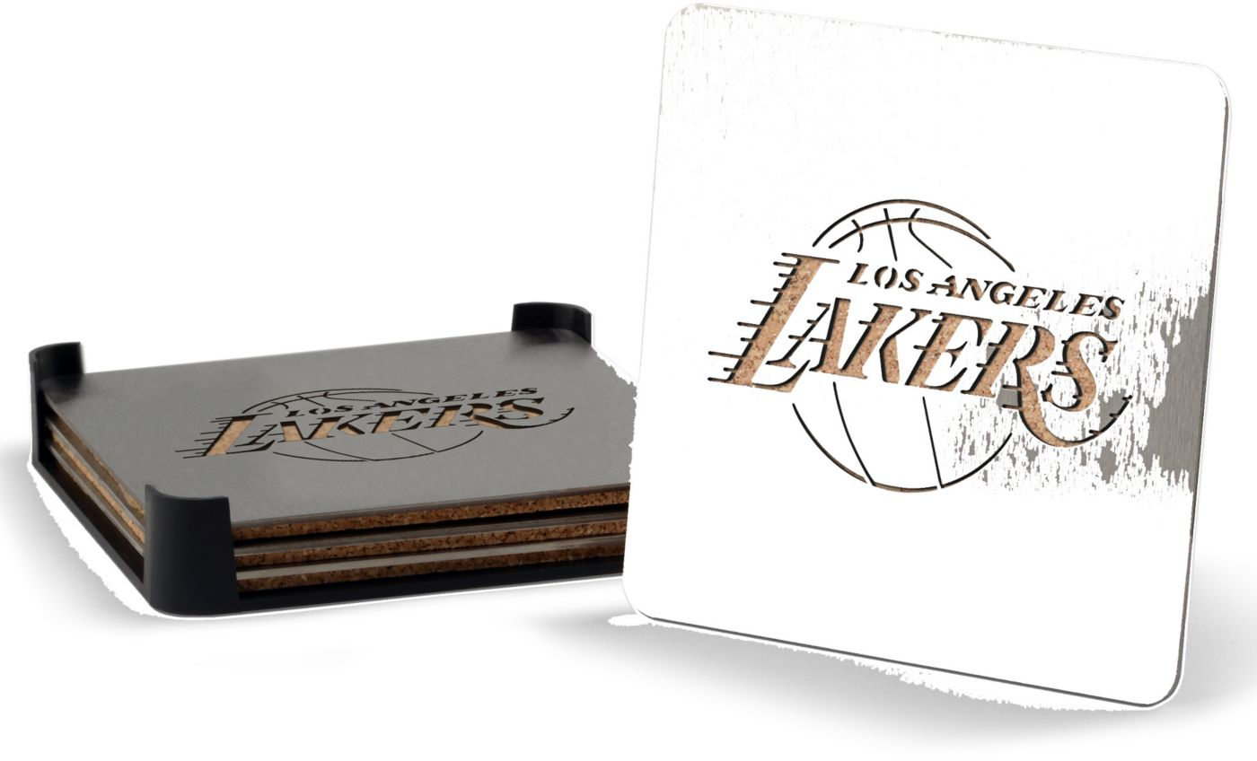 You the Fan Los Angeles Lakers Coaster Set
