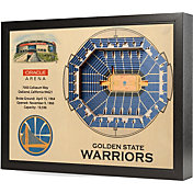 You the Fan Golden State Warriors 25-Layer StadiumViews 3D Wall Art