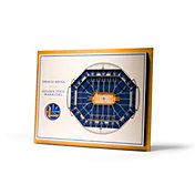 You the Fan Golden State Warriors 5-Layer StadiumViews 3D Wall Art