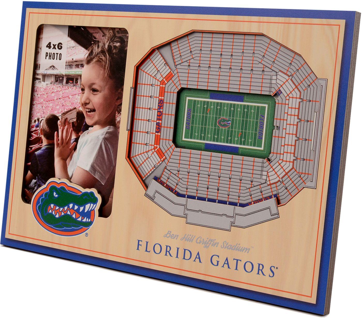 You the Fan Florida Gators 3D Picture Frame