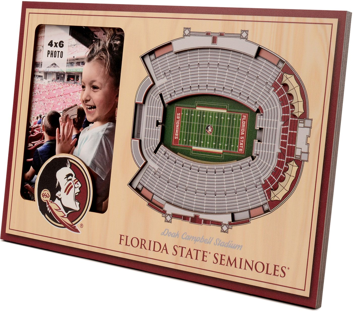 You the Fan Florida State Seminoles 3D Picture Frame