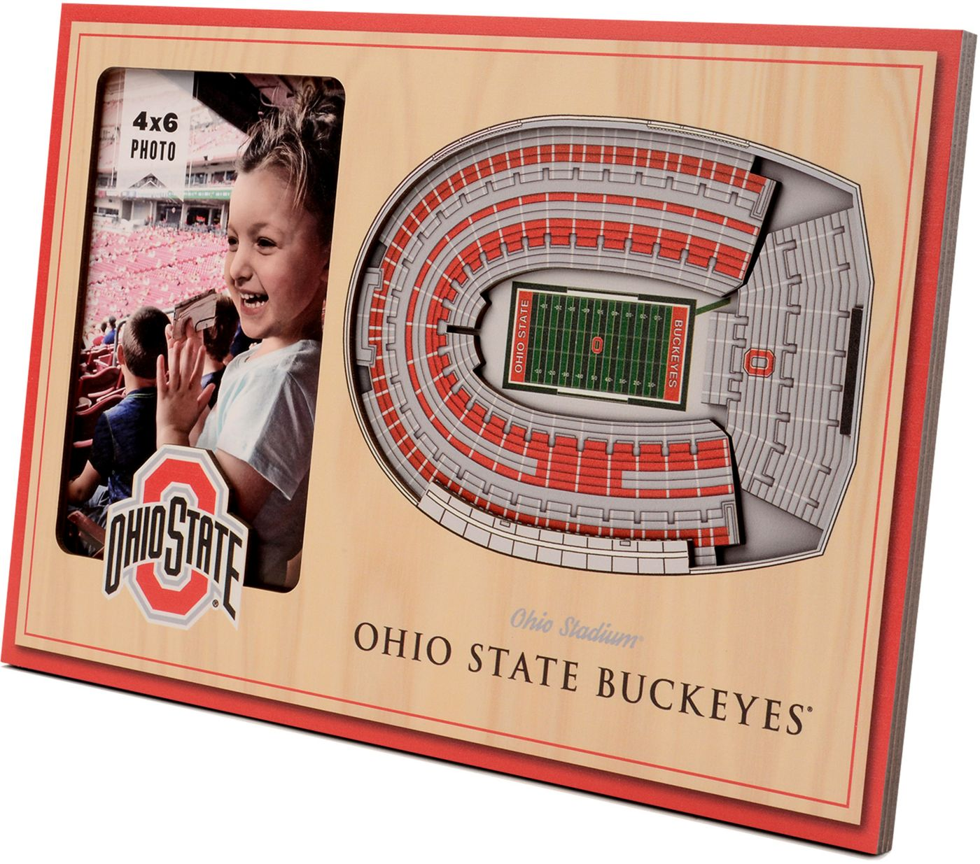 You the Fan Ohio State Buckeyes 3D Picture Frame