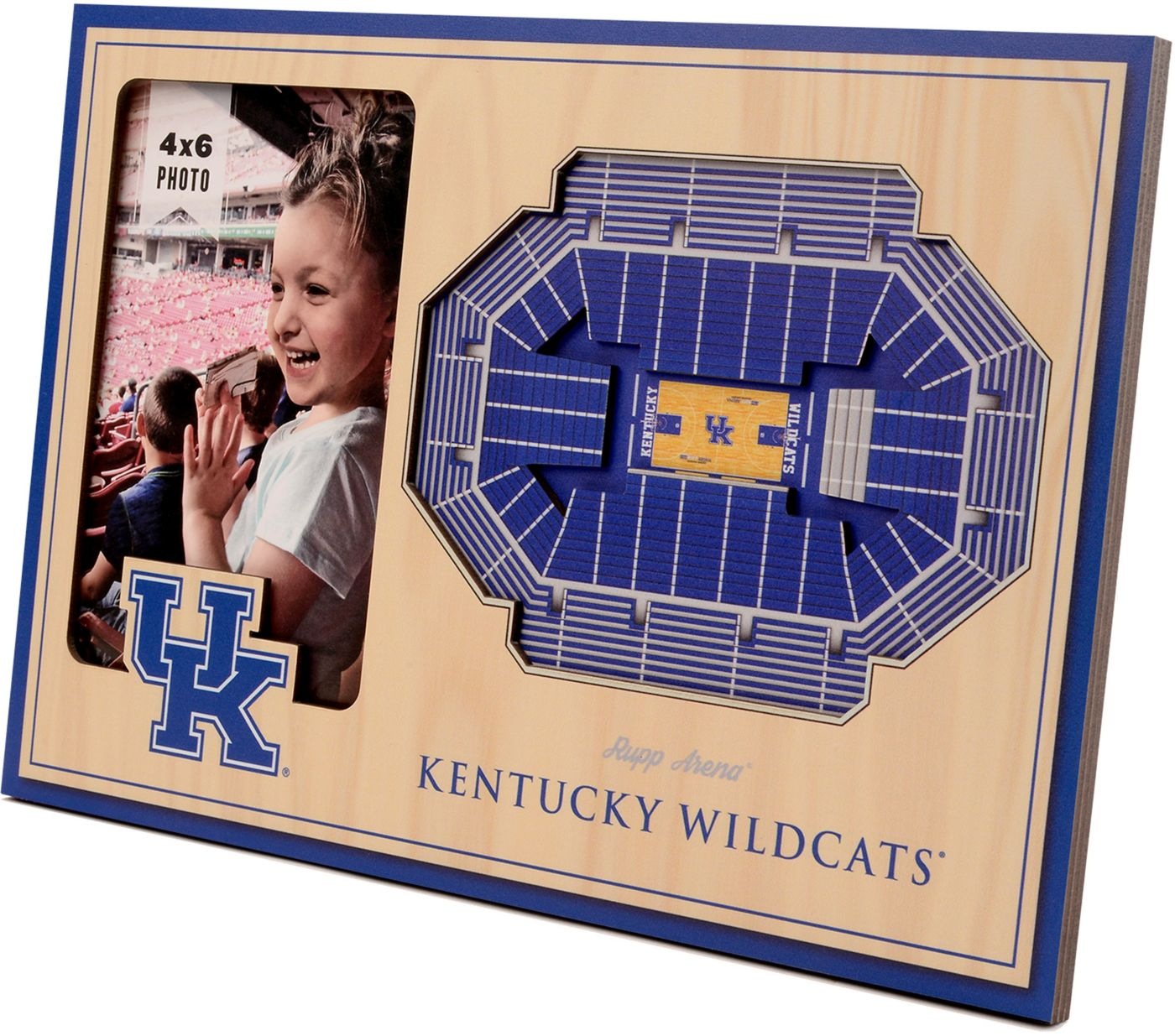 You the Fan Kentucky Wildcats 3D Picture Frame
