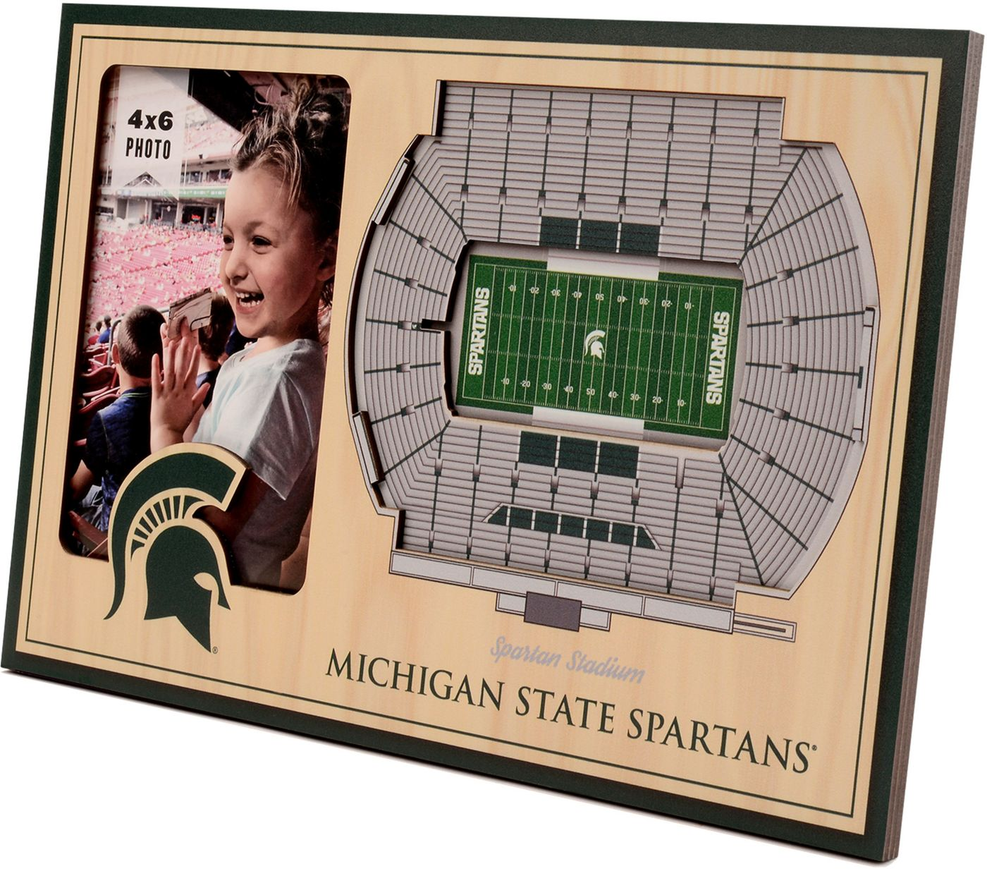 You the Fan Michigan State Spartans 3D Picture Frame