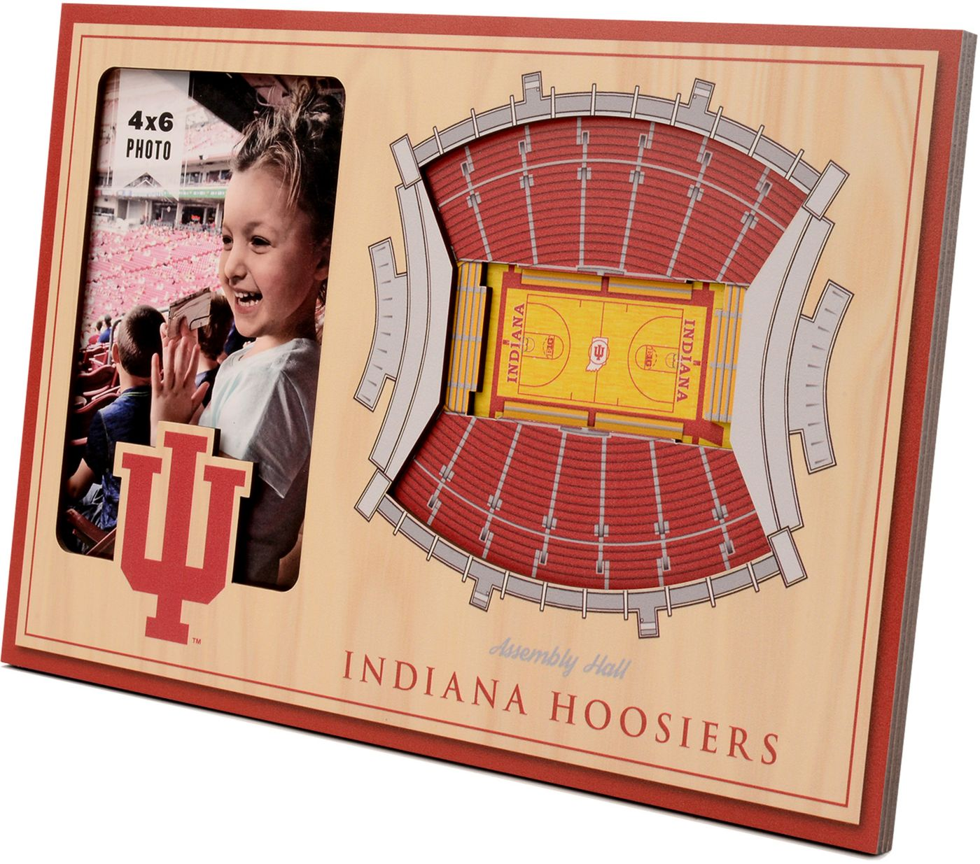 You the Fan Indiana Hoosiers 3D Picture Frame
