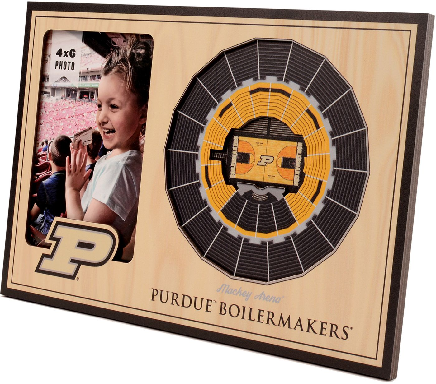 You the Fan Purdue Boilermakers 3D Picture Frame