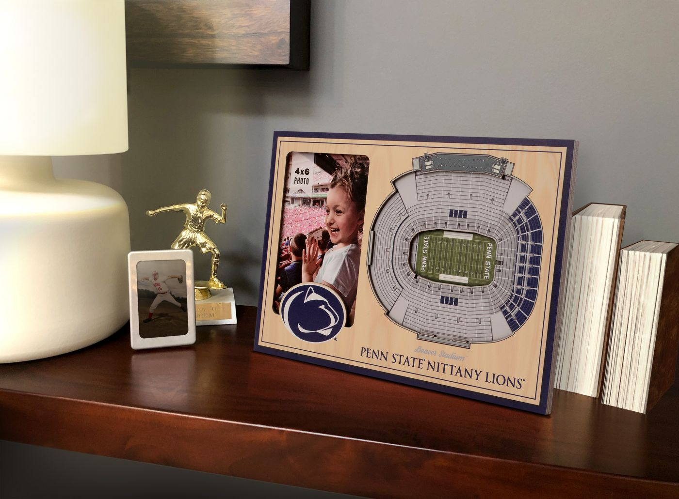 You the Fan Penn State Nittany Lions 3D Picture Frame