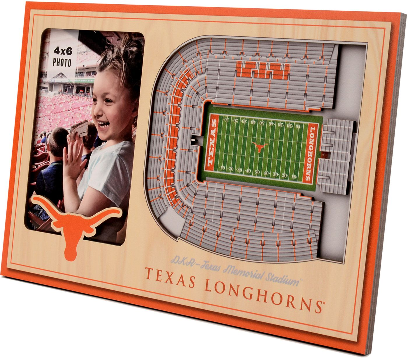 You the Fan Texas Longhorns 3D Picture Frame