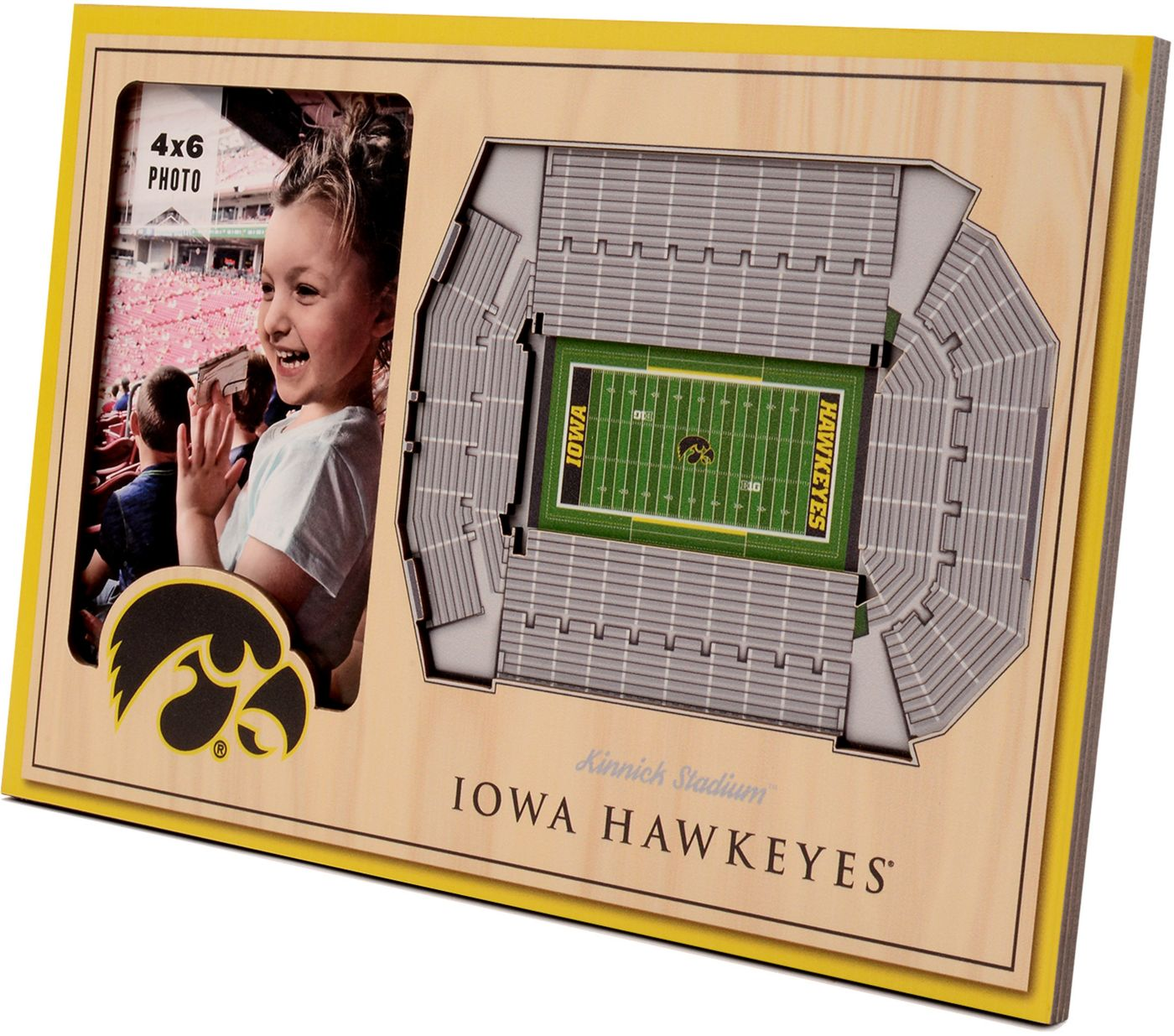 You the Fan Iowa Hawkeyes 3D Picture Frame