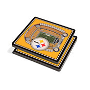 You the Fan Pittsburgh Steelers 3D Stadium Views Coaster Set