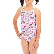 Dolfin Girls' Uglies Tankini Swimsuit Set