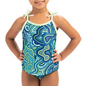 Dolfin Little Girls' Print Tankini Top