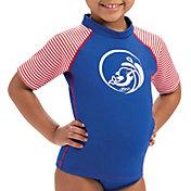 Dolfin Toddler Girls' Color Block Rash Guard