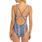 Dolfin Women's Uglies Revibe Print Star Back One Piece Swimsuit