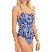 Dolfin Women's Uglies Revibe Print Tie-Back One Piece Swimsuit