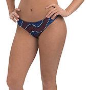 Dolfin Women's Uglies Revibe Print Strappy Bikini Bottoms