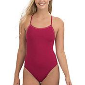 Dolfin Women's Uglies Revibe Solid Tie Back One Piece Swimsuit