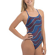 e3ba03ede3b Product Image · Dolfin Women's Uglies Revibe Print Tie One Piece Swimsuit