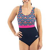 Dolfin Women's Aquashape Moderate Scoop Back One Piece Swimsuit