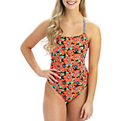Dolfin Women's Revibe Print Diamondback One Piece Swimsuit