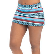 Dolfin Women's Aquashape Print A-Line Swim Skirt