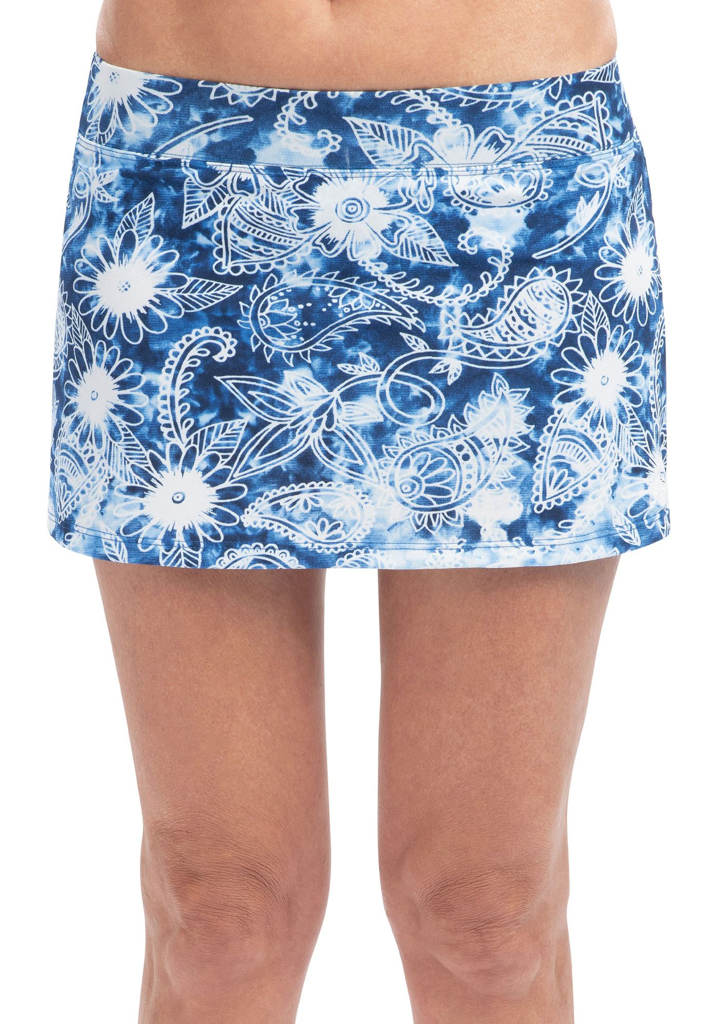 Dolfin Women's Aquashape Print A-Line Swim Skirt