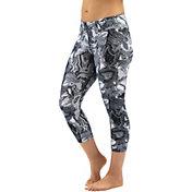 Dolfin Women's Aquashape Print Aqua Swim Capri Pants