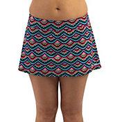 Dolfin Women's Aquashape Solid A-Line Swim Skirt