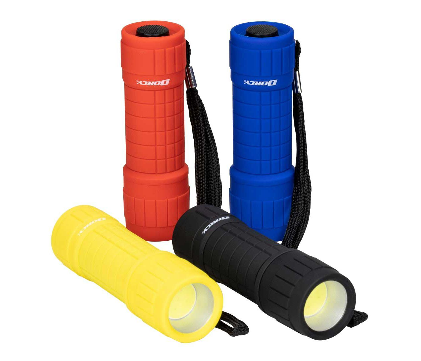 Dorcy LED Flashlight 4-Pack