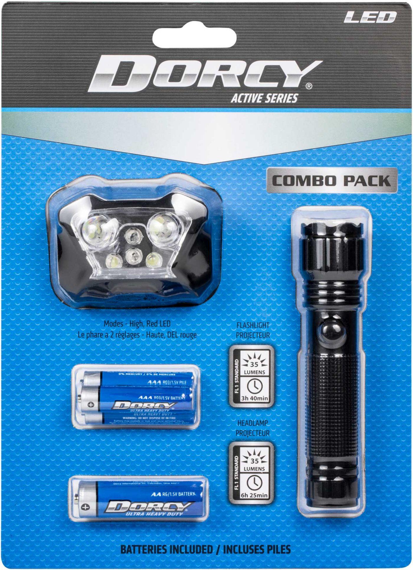 Dorcy Headlamp and Flashlight Combo