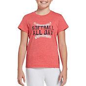DICK'S Sporting Goods Girls' Ball Park Series Softball Graphic T-Shirt