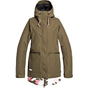 DC Shoes Women's Riji Insulated Snow Jacket
