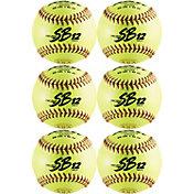 "Dudley 12"" NFHS/ASA SB12 Fastpitch Softballs - 6 Pack"