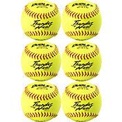 "Dudley 12"" NFHS/ASA Thunder Heat Fastpitch Softballs - 6 Pack"