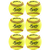 "Dudley 11"" ASA Thunder Heat Fastpitch Softballs - 6 Pack"