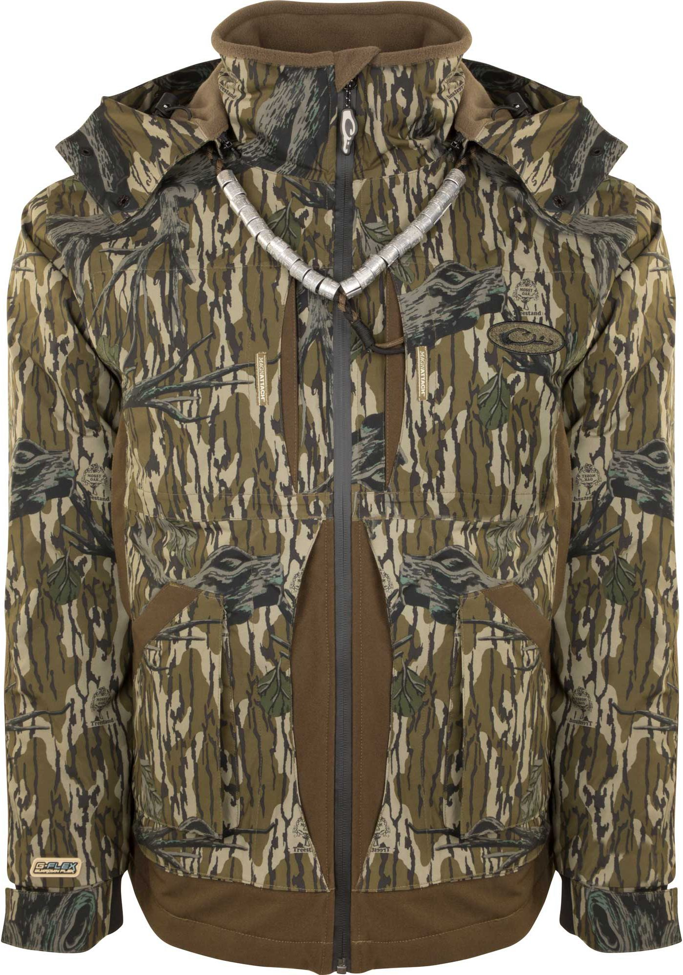 Drake Waterfowl Men's Guardian Flex Full Zip Fleece Lined Hunting Jacket
