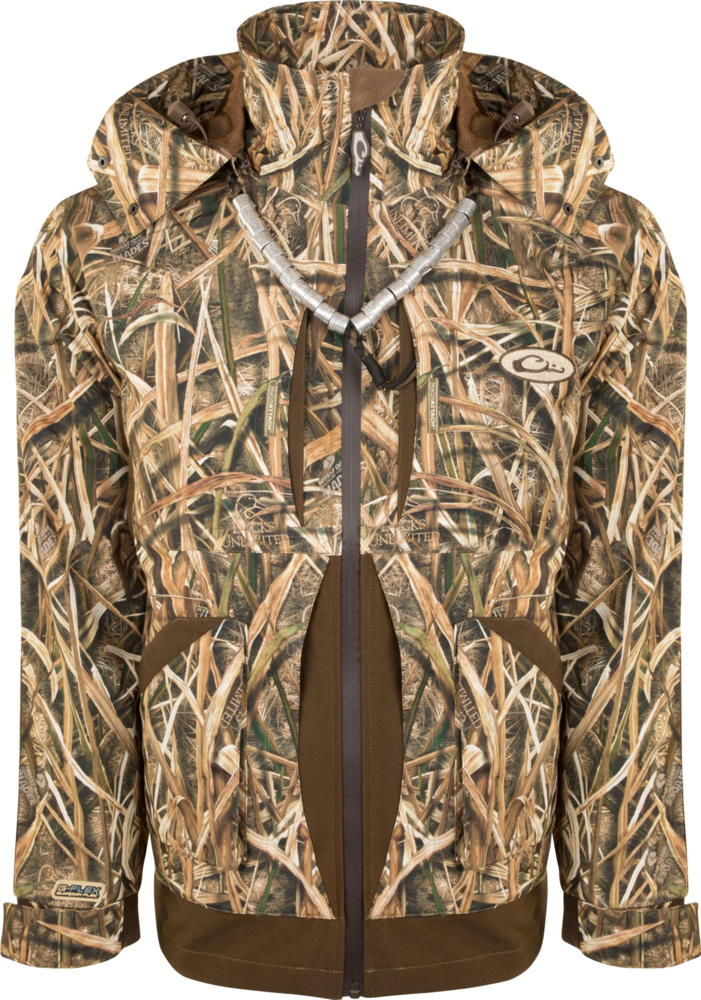 Drake Waterfowl Men's Guardian Flex Full Zip Shell Weight Hunting Jacket