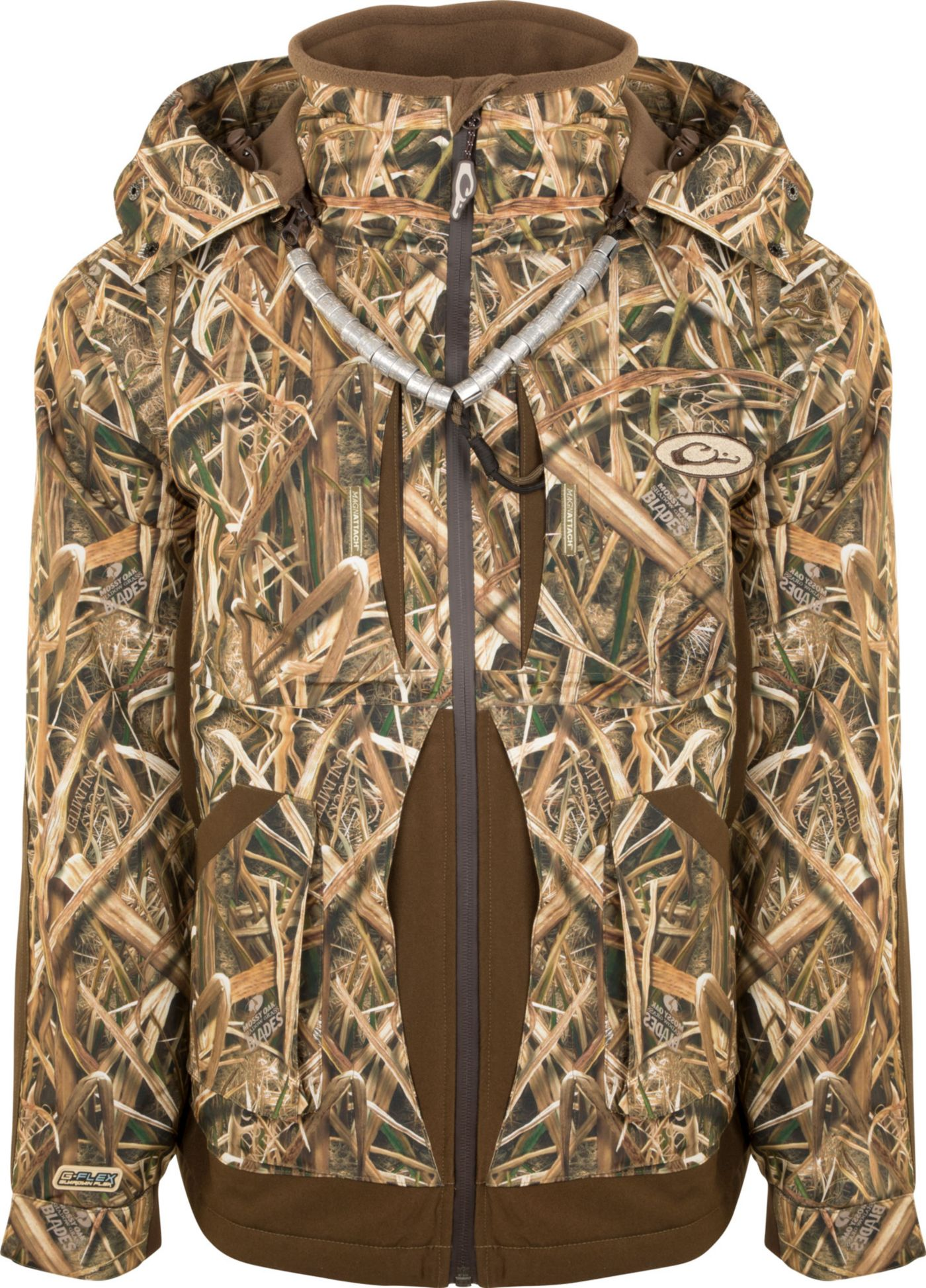 Drake Waterfowl Men's Guardian Flex Full Zip Insulated Hunting Jacket