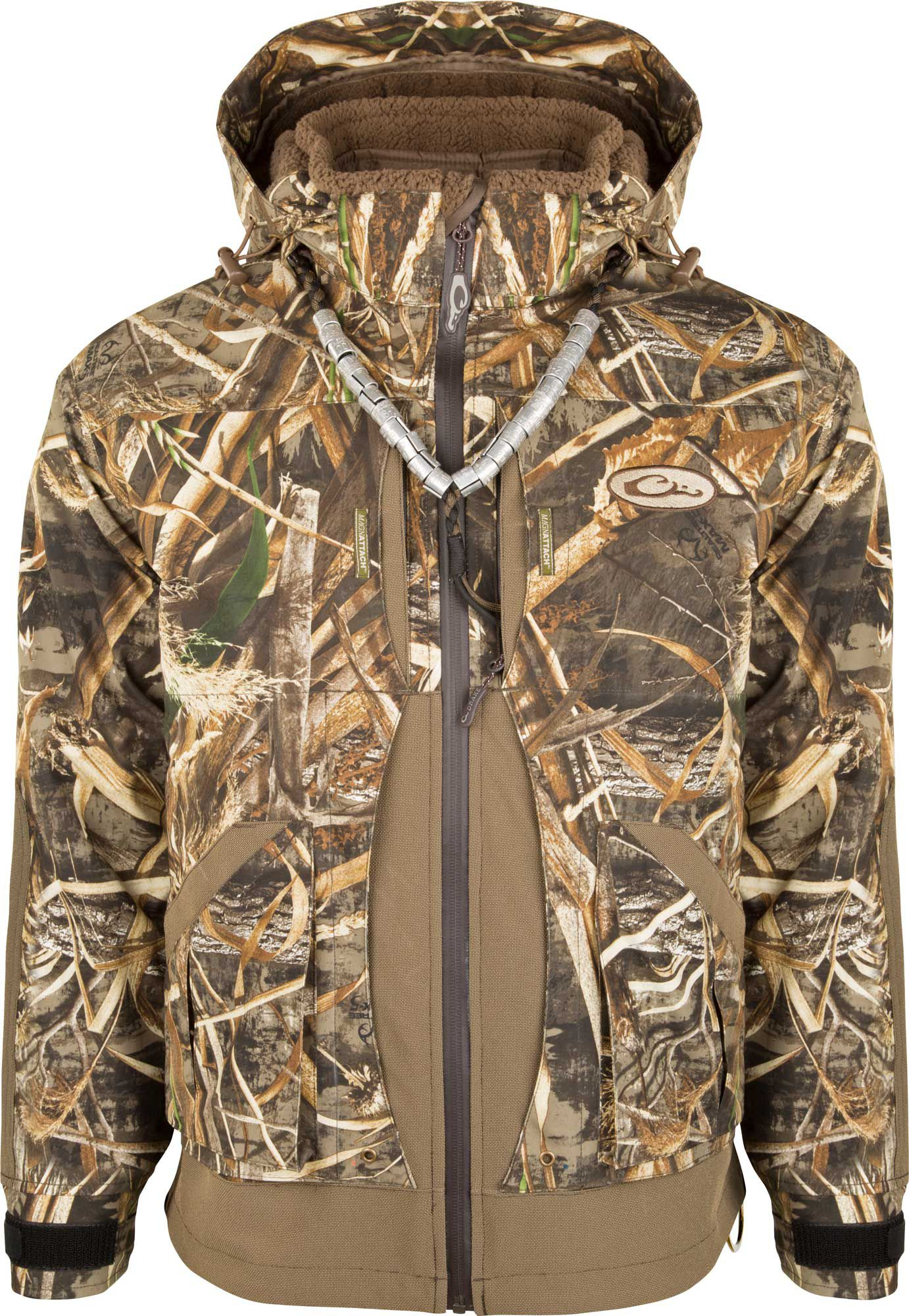 Drake Waterfowl Men's Guardian Elite 3-in-1 Systems Hunting Jacket, Size: Small, Multi