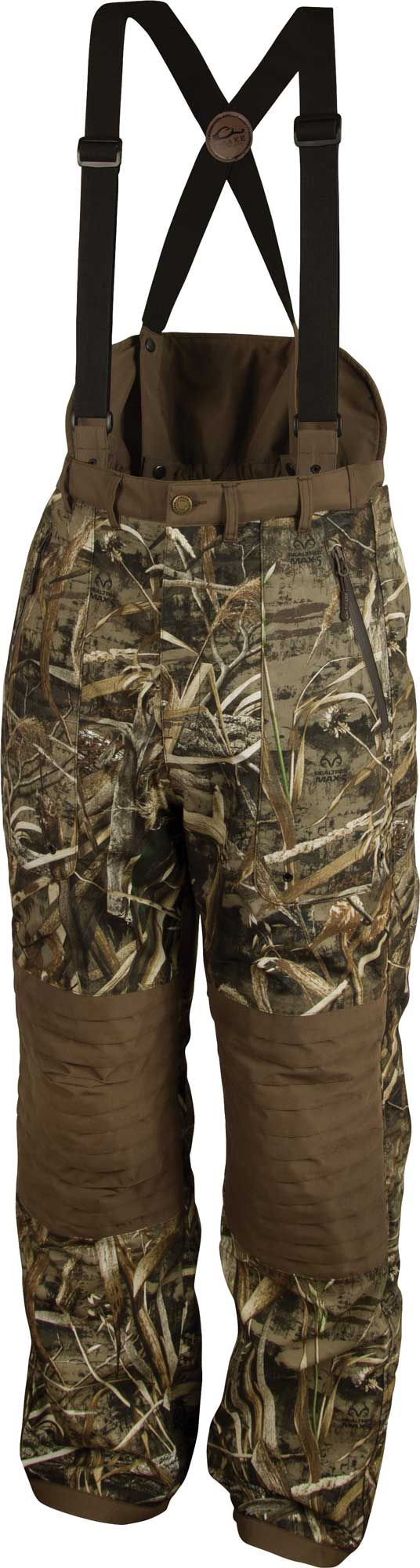 Drake Waterfowl Men's Guardian Elite High-Back Insulated Hunting Pants, Size: Small, Multi