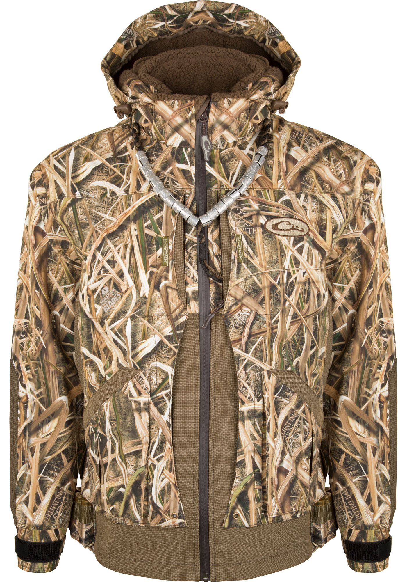 Drake Waterfowl Men's Guardian Elite Layout Blind Insulated Hunting Jacket