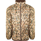 Drake Waterfowl Men's Camo Double Down Layering Full Zip Hunting Jacket