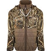 Drake Waterfowl Men's Guardian Flex Double Down Eqwader Hooded Full Zip Hunting Jacket