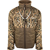 Drake Waterfowl Men's Guardian Flex Double Down Eqwader Hunting Full Zip